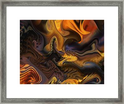 Concept And Movement Framed Print