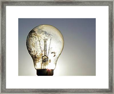 Concept Illumination  Framed Print by Pamela Patch