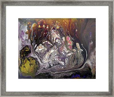 Conception Framed Print by Jennie Robin