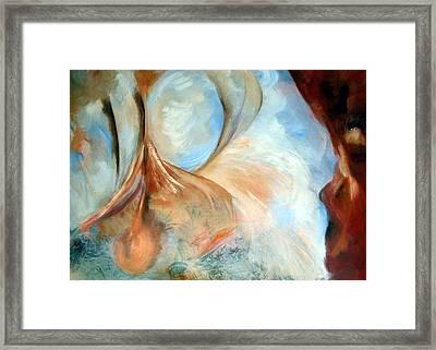 Conception Framed Print by Zoe Landria