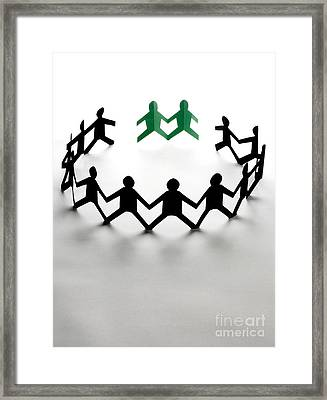 Conceptual Situation Framed Print