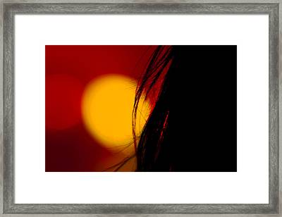 Concert Silhouette Framed Print by Tom Gort