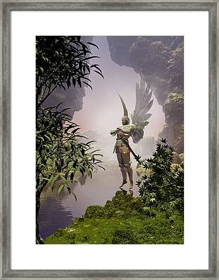 Concierge Framed Print by Sipo Liimatainen