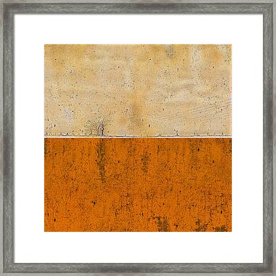 Concrete Landscape Two Framed Print by Steve K