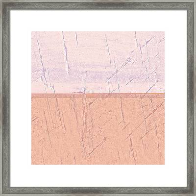 Concrete Seascape One Framed Print by Steve K