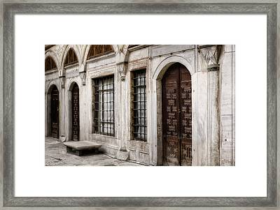Concubine  Court Framed Print by Joan Carroll