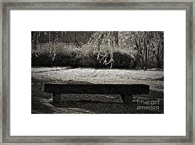 Concurrence Of Causes Framed Print by Gwyn Newcombe