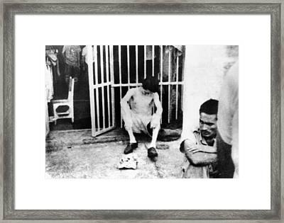 Conditions Inside Castros Cuban Framed Print by Everett