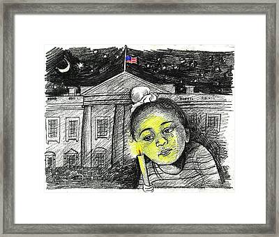 Condolence  Framed Print