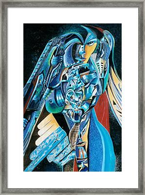Condors Framed Print by Lourents Oybur