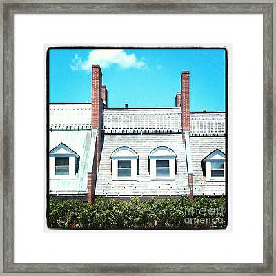 Condos In Portsmouth New Hampshire Framed Print