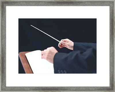 Conductor Framed Print by Datacraft Co Ltd