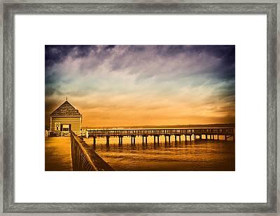 Cone Island Framed Print