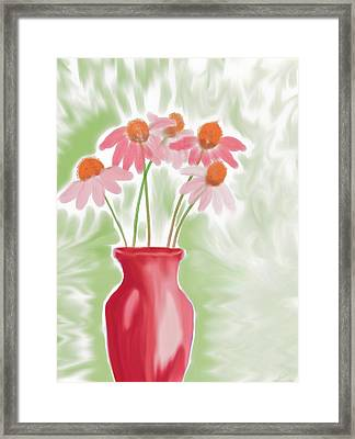 Coneflower Still Life Framed Print