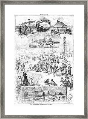 Coney Island, 1878 Framed Print