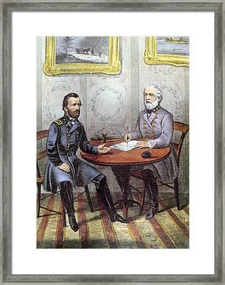 Confederate General Robert E. Lee Framed Print by Everett
