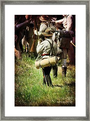 Confederate Soldiers Framed Print