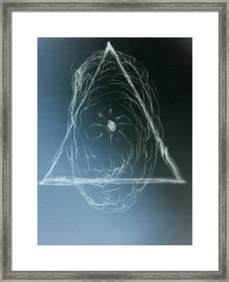 Configuration Of Authurity Framed Print by Coin Iruebenebe