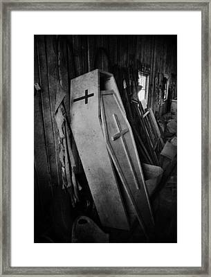 Confined  Framed Print by Jerry Cordeiro