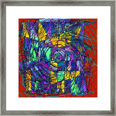 Conflicting Viewpoints Framed Print by Rod Saavedra-Ferrere
