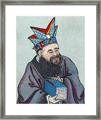 Confucius, Chinese Philosopher Framed Print