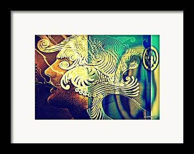 Idealized Expressions Emerge Framed Prints
