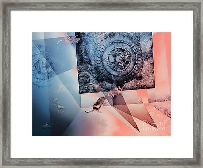 Confusion Framed Print by Jutta Maria Pusl