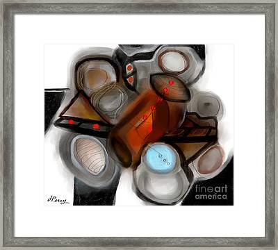 Conglomeration Framed Print