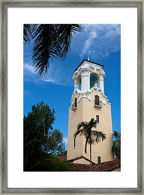 Framed Print featuring the photograph Congregational Church Of Coral Gables by Ed Gleichman