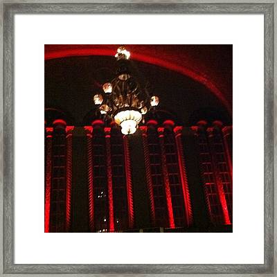 Congress Theater Framed Print