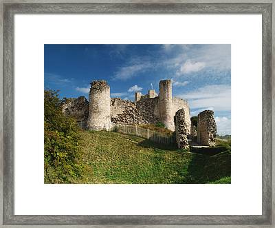 Conisborough Castle Framed Print