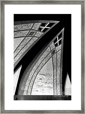 Connecting Pieces Framed Print