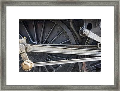 Connecting Rods Of Sir Nigel Gresley Framed Print by John Short