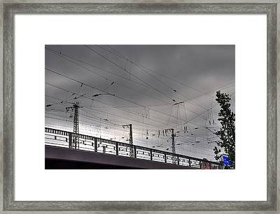 Connections Framed Print by Barry R Jones Jr