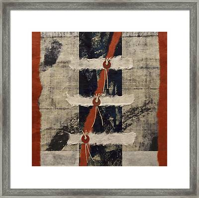 Connections Framed Print by Carol Leigh