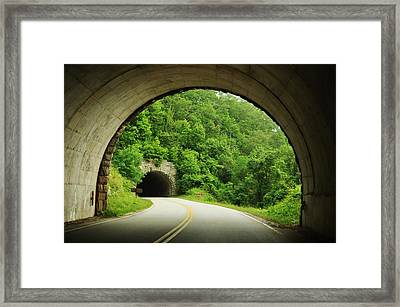 Connections Framed Print by Jeff Moose