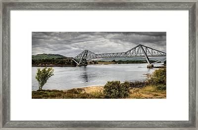 Connell Bridge Framed Print
