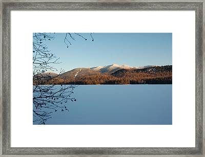 Connery Pond Framed Print