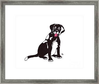 Connie Framed Print