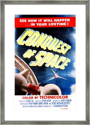 Conquest Of Space, 1955 Framed Print