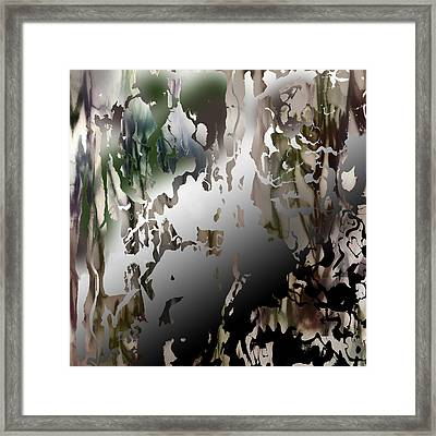 Conscious Effort Detail 6 Framed Print by Richard Fisher