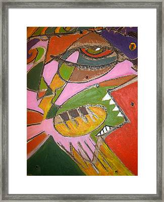 Conscious Evolution Framed Print by Tyler Schmeling