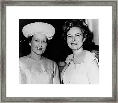 Conservative Politician, Phyllis Framed Print by Everett