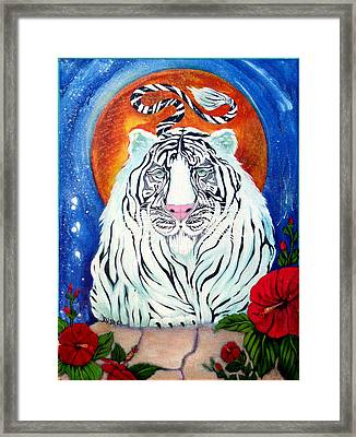 Constant Companion Framed Print by Andrea Camp