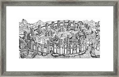 Constantinople, 1493 Framed Print by Photo Researchers