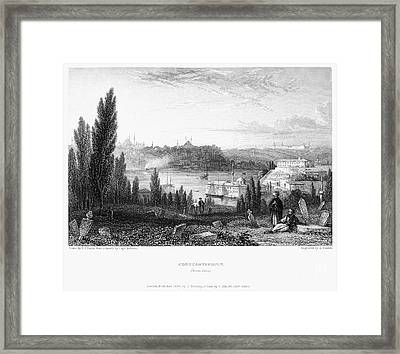 Constantinople, 1833 Framed Print by Granger