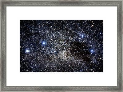 Constellations Of Crux & Centaurus Framed Print by Dr Fred Espenak
