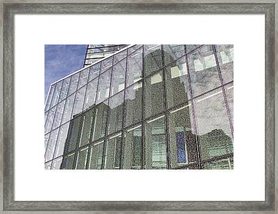 Constitution Reflection Framed Print by Peter Chilelli