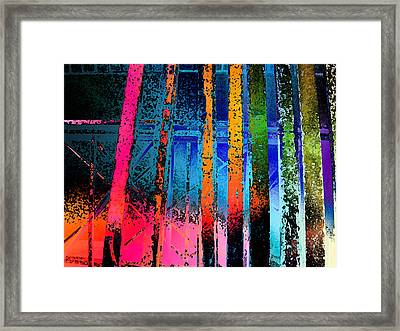 Framed Print featuring the photograph Construct by David Pantuso
