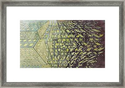 Construction Deconstruction 1 Framed Print by Phil Vance